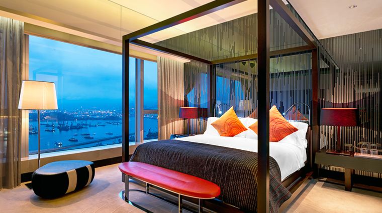 w hong kong WOW suite bedroom