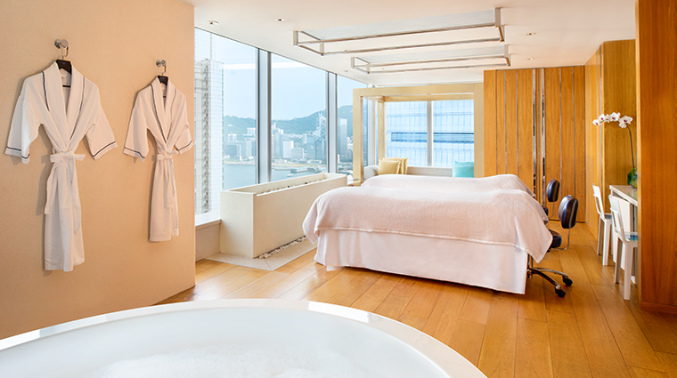 w hong kong bliss spa suite