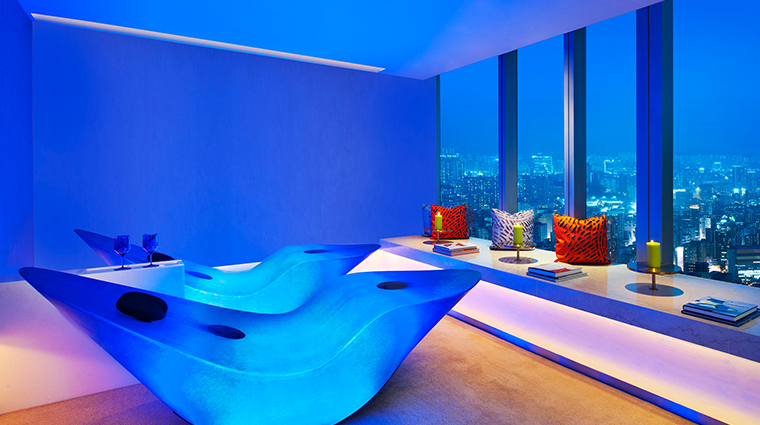 w hong kong relaxation room