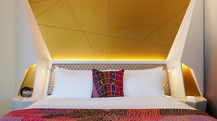 w san francisco bed detail