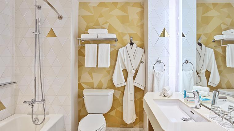 w san francisco guest bathroom