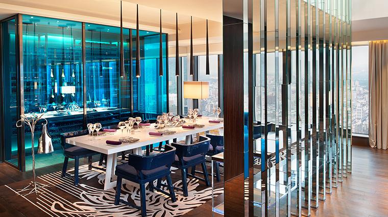 W Taipei extreme wow suite dining
