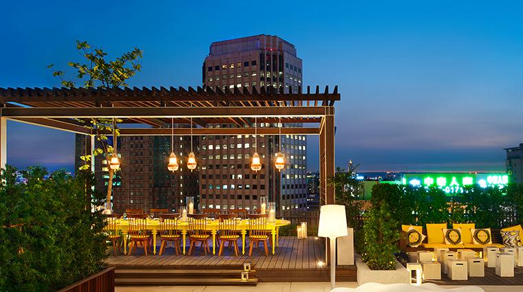 W Taipei terrace