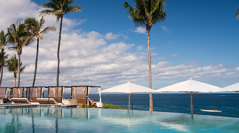 wailea beach resort marriott maui infinity pool cabanas