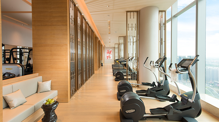 waldorf astoria chengdu gym