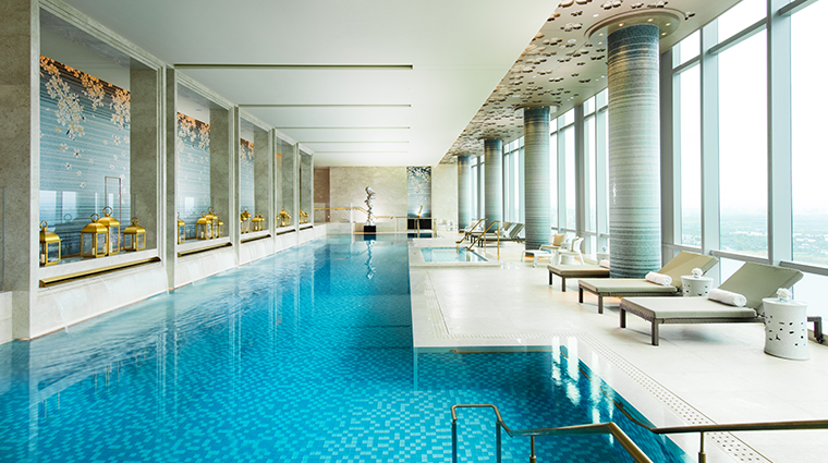 waldorf astoria chengdu pool
