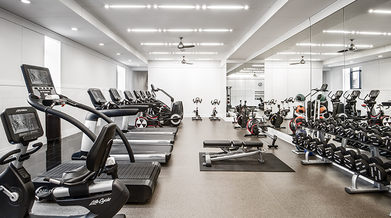 waldorf astoria chicago fitness center