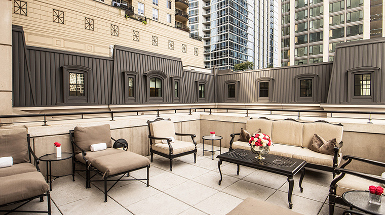 waldorf astoria chicago spa terrace