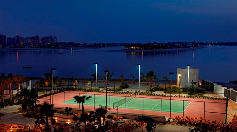 waldorf astoria dubai palm jumeirah Tennis Court