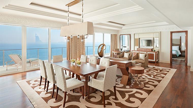waldorf astoria dubai palm jumeirah Waldorf Astoria Suite Living Room