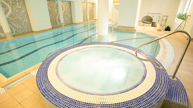 waldorf astoria edinburgh the caledonian guerlain spa pool
