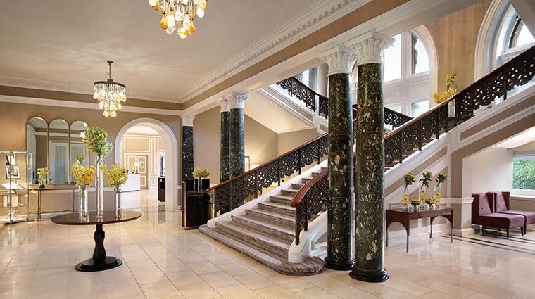 waldorf astoria edinburgh the caledonian lobby staircase