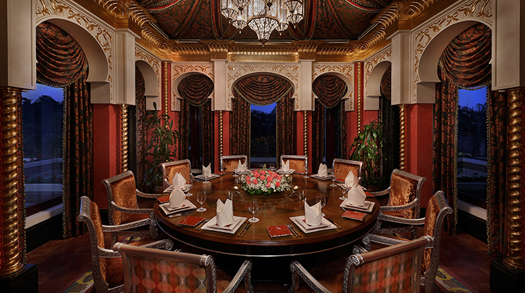 waldorf astoria jeddah Mataam Al Sharq private dining