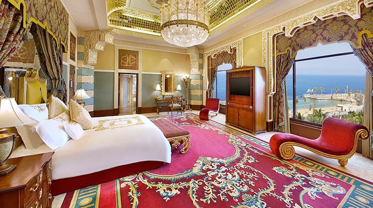 waldorf astoria jeddah Qasr Suite Bedroom