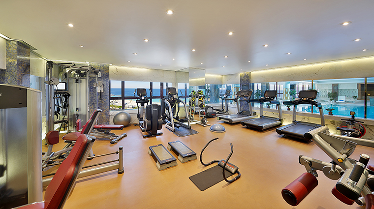 waldorf astoria jeddah spa gym
