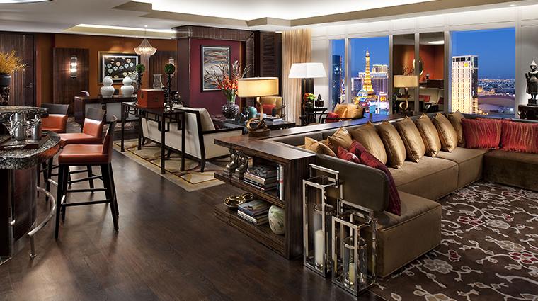 mandarin oriental las vegas taipan suite