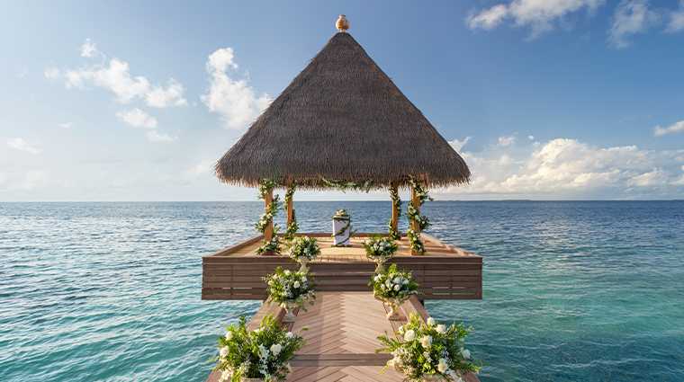 waldorf astoria maldives ithaafushi wedding pavillion