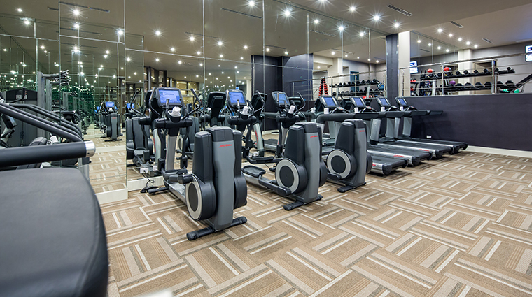 waldorf astoria panama fitness center