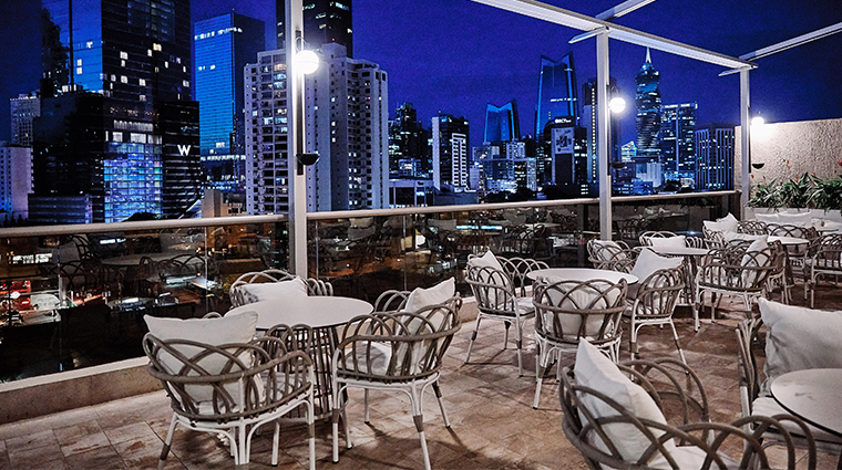 waldorf astoria panama terrace view