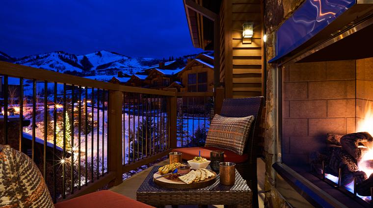 waldorf astoria park city suite balcony