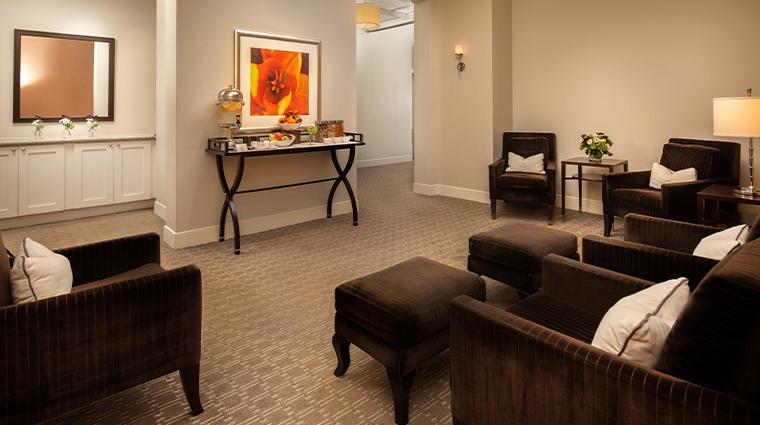 waldorf astoria atlanta spa relaxation room