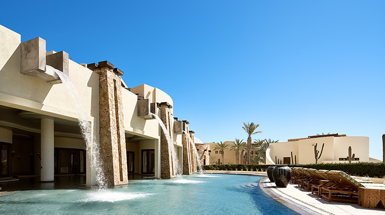 waldorf astoria spa los cabos meditation pool waterfalls