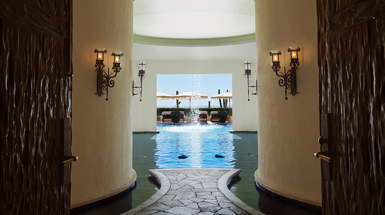 waldorf astoria spa los cabos spa pool view