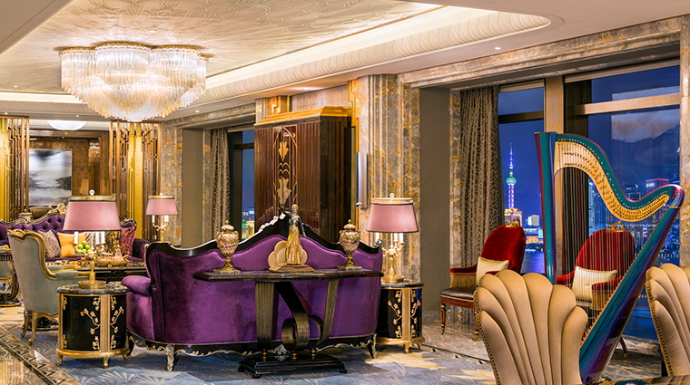 wanda reign on the bund chairman suite living room
