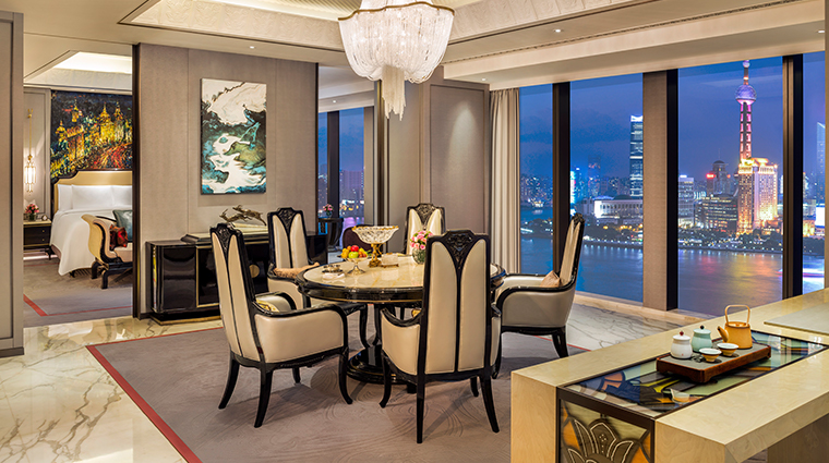 wanda reign on the bund diplomat river suite