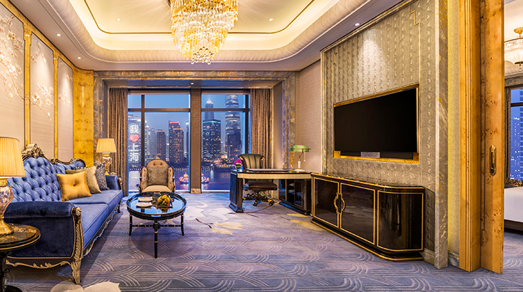 wanda reign on the bund executive suite living room