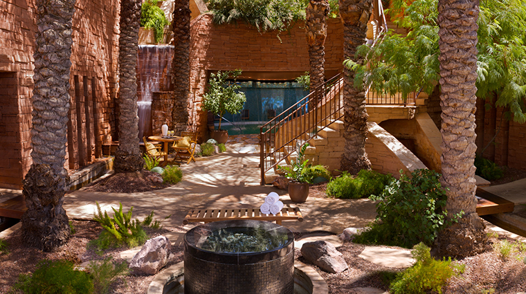 well being spa at fairmont scottsdale princess waterfall grotto day