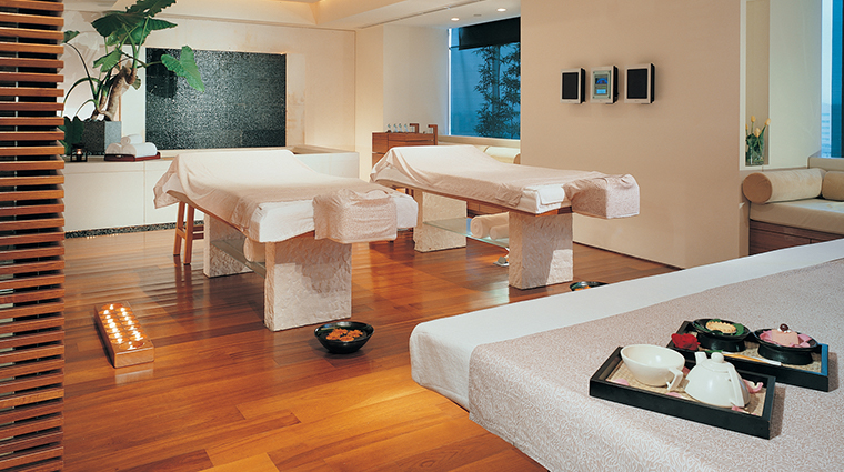 wellspring spa double treatment room