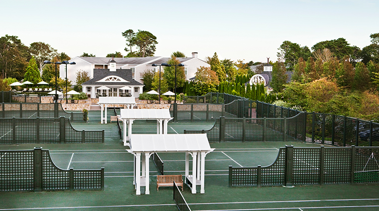wequassett resort and golf club tennis courts