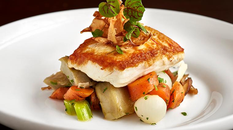 westend bistro fish dish