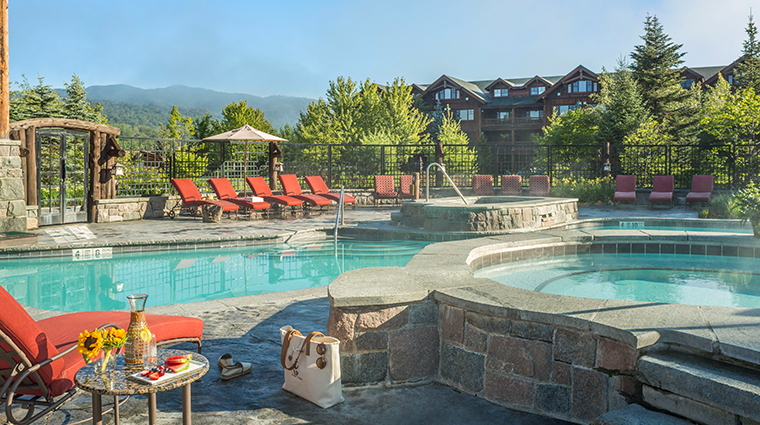 whiteface lodge resort spa pool