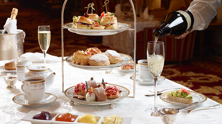 willard intercontinental afternoon tea