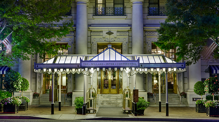 willard intercontinental entrance