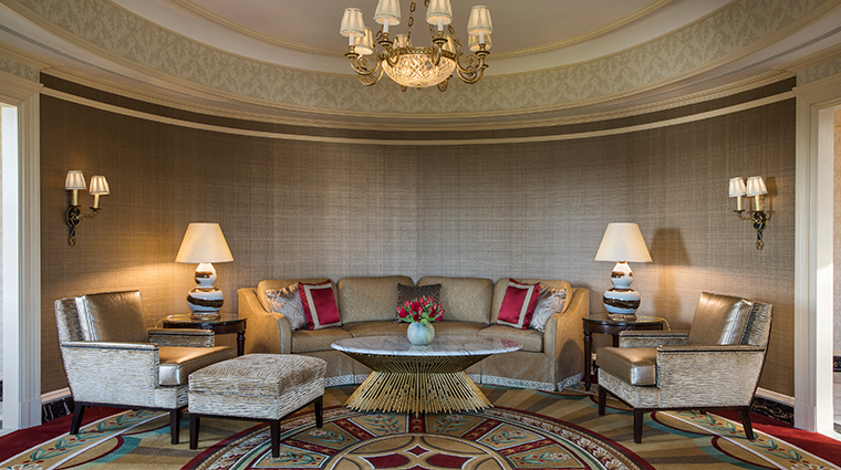 willard intercontinental oval suite