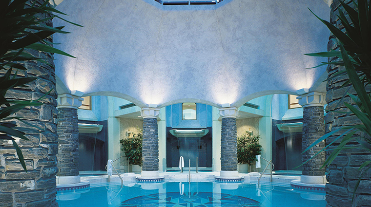 willow stream spa at the fairmont banff springs mineral pool