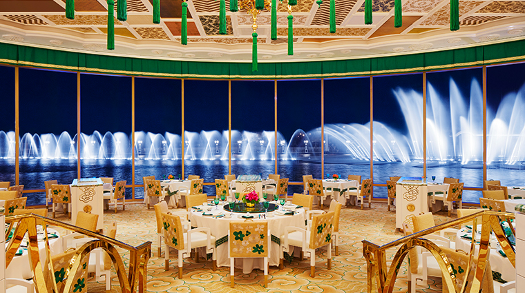 wing lei palace at wynn palace macau dining room view