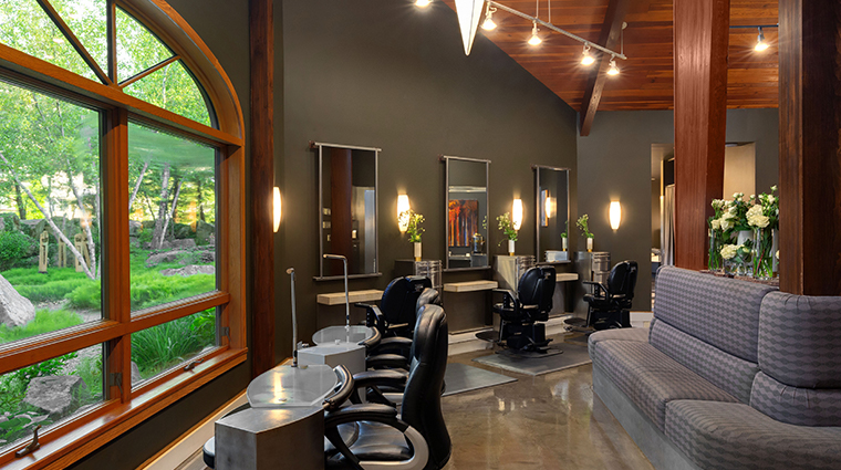 woodlands spa at nemacolin woodlands resort salon