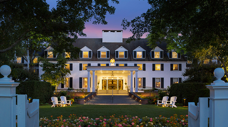 woodstock inn resort exterior