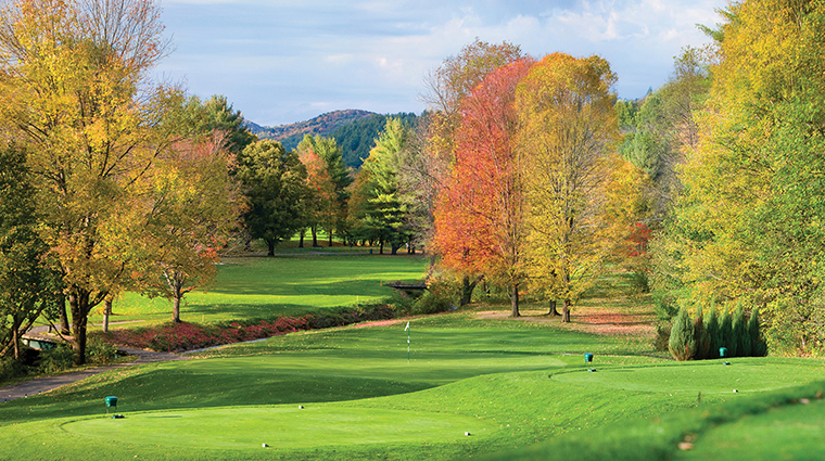 woodstock inn resort golf course