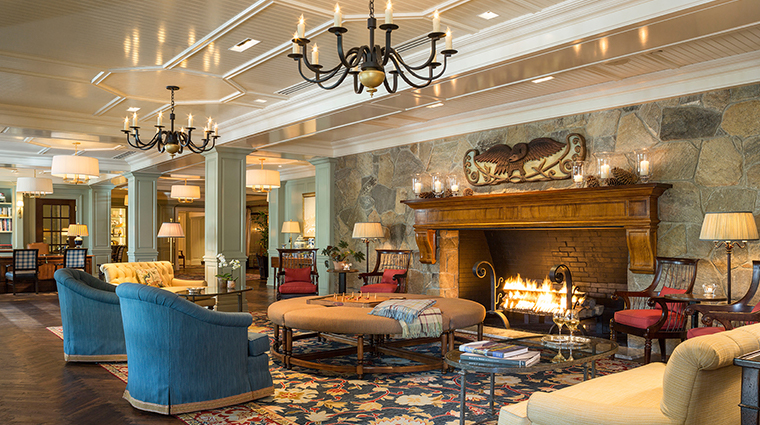 woodstock inn resort lobby