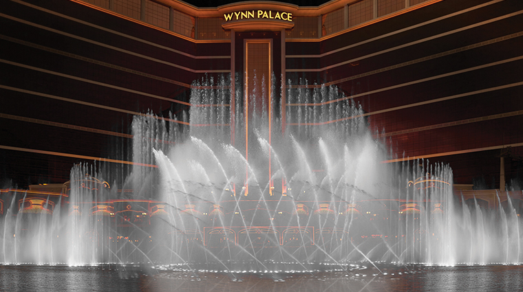 wynn palace fountain