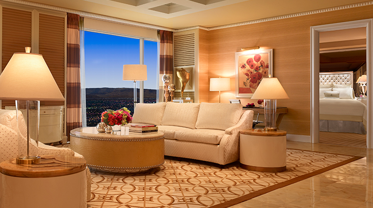 wynn tower suites salon suite living room