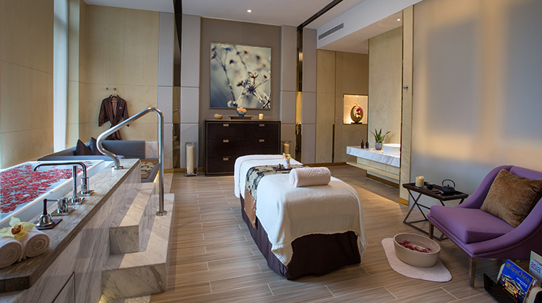 zensa spa single treatment room