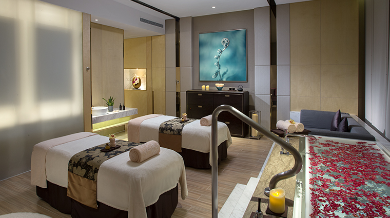 zensa spa treatment room